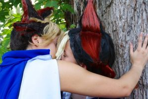 What for a kiss of Yami by Hikari-Angel-Yugi