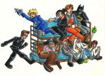 How Many People Can Fit on a Double Decker Couch? by Kasandra-Callalily