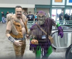 Kraven and Green Goblin by hoganvibe