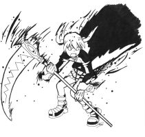 SE - Maka black and white by Adual