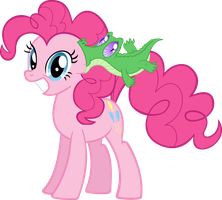 Pinkie Pie and Gummy by supermatt314
