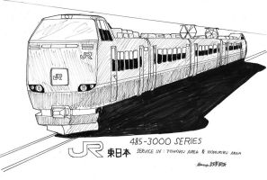 JR East 485-3000 by ngarage