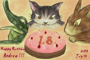 HappyBirthday Andrea 18 -Dayan by BUBIMIR-39