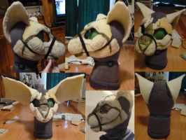 Khajiit Cosplay Wip update by Micodaemus
