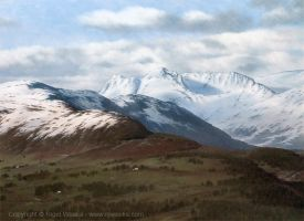 Langdale Snow by Crynyd