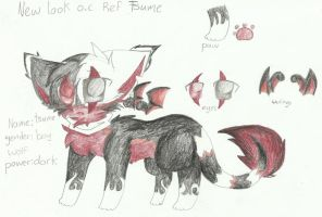New Look Of Tsume O.c Ref by RedNoctali
