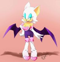 Rouge the bat by NeJolly