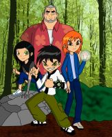 Ben 10 AD: Max and the kids by Xelku9
