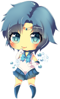 Sailor Mercury Chibi by Aliyune