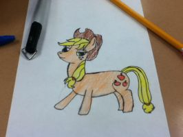 unoffical AppleJack (colored) by zacorasfollower