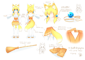 Personal - Sanyu [design sheet] by scionofaiur
