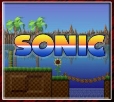 Sonic green hills by Red8ball
