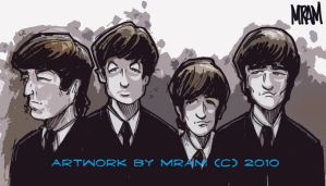 THE BEATLES by MRAMVFX