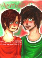 Spamano: Ugly Sweaters by Crazed-In-Theory