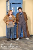 Doctor Who Photoshoot: Donna Noble and the Doctor by StrangeStuffStudios