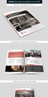 Bifold Business Brochure Template by renefranceschi