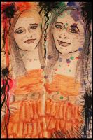Twin Sisters... Seven Years Apart by Karen73