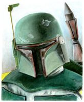 Boba Fett by Lonejax