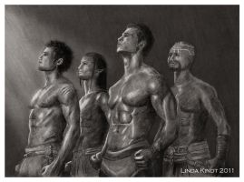 Neverwinter Hunks by Isriana