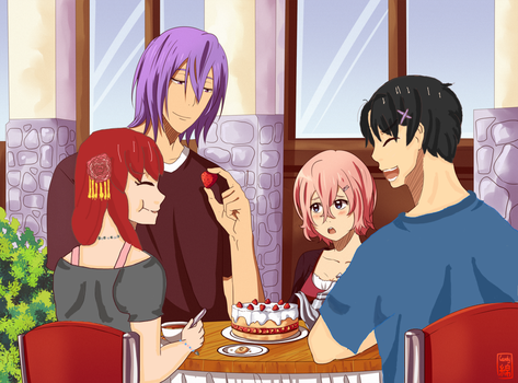 :KNB COLLAB: Two Idiot's Double Date by Yoko-tan