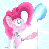 Pinkiebot by Cheshiresdesires