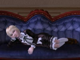 Alois Trancy -Sims2 by voxor