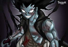 Iron Shadow Dragon Gajeel by Ishthak