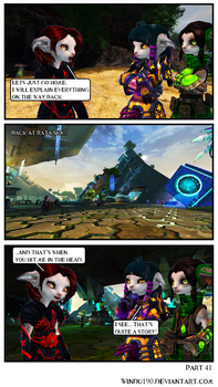 A Skritty Situation 41 (Guild Wars 2 comic) by windu190