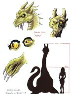 Cryptids sheet 05  Ogopogo by Dracowhip