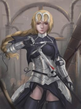 Jeanne D'Arc by Ocetee