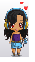 Chibi Me by esther11