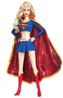 Supergirl Barbie by harleyquinnxguason