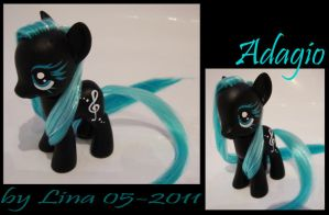 Adagio - A G4 MLP custom by frozenfilly