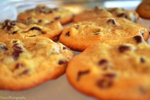 Chocolate Chip Cookies by FarorePhotography