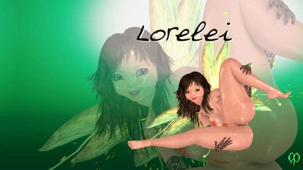 Lorelei's wallpaper by Chronophontes
