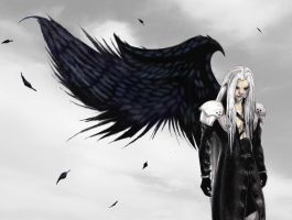 Sephiroth Colored by ellyabby