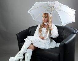 Tanit-Isis White Lolita I by tanit-isis-stock