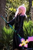 Marluxia cosplay 2 by YachiruFoxTailFairy