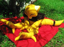Life-size Abra Plush by MsMars