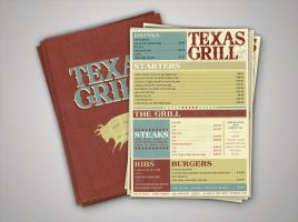 Texas Grill Menu by my-name-is-annie