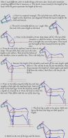 Beginners Way to Horse Drawing by bberry06