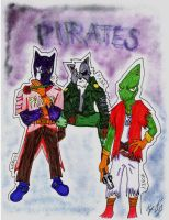 StarWolf- PIRATES by NinjaUrochi