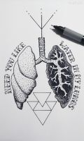 Lungs by Aephylis