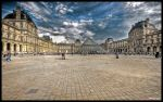 Paris  - Louvre II WP by superjuju29