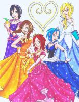 KH: Disney Princesses by Ai-Don