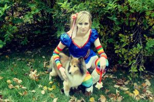 Rainbow Brite + Her Wonder Dog by Leah-Sama