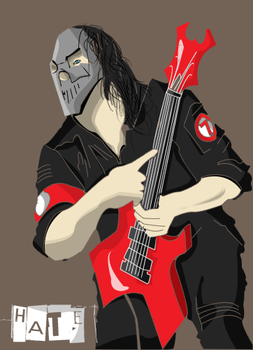 Mick Thompson - SlipKnot by Rockerpunkkk