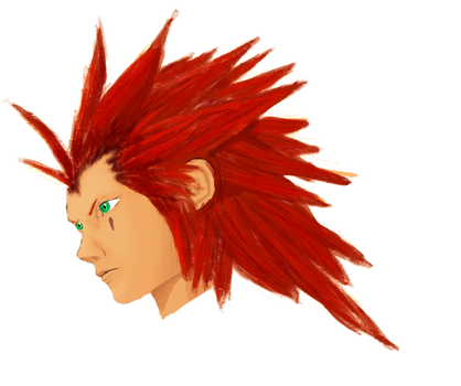 Practice - Axel by jabbycat
