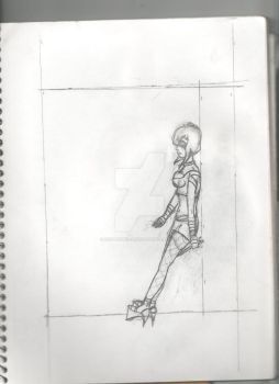 First Character Sketch No Name by Scoundrel-Art