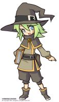 Lilia , the witch by VRES
